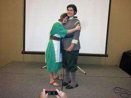 CTcon '12 - Toph and Bolin by TEi-Has-Pants