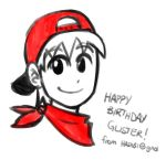 MY FIRST GIFT ART by gilster262