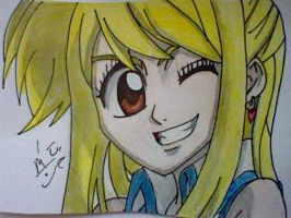 Lucy ^.^ (From FairyTail) by LittleEmers27