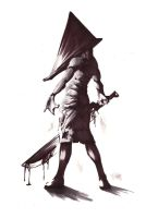 Pyramid Head by 2hitcombo