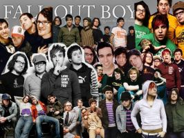 fall out boy collage by ChloeOfRoses