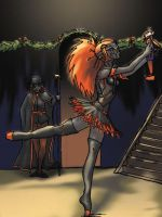 Kharla and the Nutcracker by Frost-indri