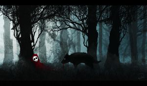 Death of Little Red Riding Hood by WooCushWashi