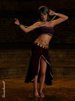 Chained Dancer by succubusart