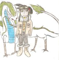 The Dragon and the DragonTamer by Jeido