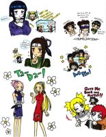 Naruto Mini Funnies by mslckitty