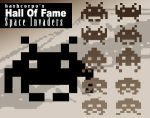 Hall of fame - Space Invaders by bashcorpo