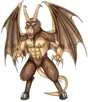 The Jersey Devil by Magelet