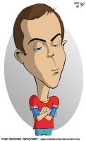 Sheldon Cooper (Big Bang Theory) by sidan