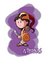 The Gods - Athenas by OttoArantes