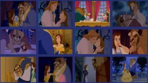 Belle and Beast Wallpaper by red-devil-saz