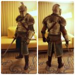 Dark Souls II - Faraam Knight Cosplay AX 2014 by harvestbuddy