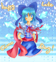Happy Late Cirno Day by Elssuh