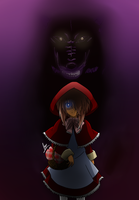 The Dark Side of the Riding Hood by hanon993