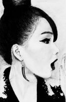 2NE1- CL [Lee Chae Rin] by keelykeelii