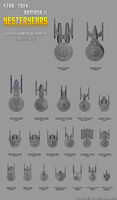 Yesteryears Federation Fleet by Majestic-MSFC