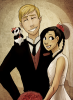 FMA - Amestrian Wedding by schellibie