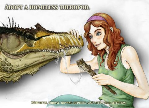Adopt a Theropod by Rodrigo-Vega