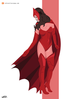 Scarlet Witch (Avengers) by FeydRautha81