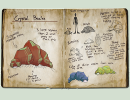 RC: Crystal Backs by lucy12143