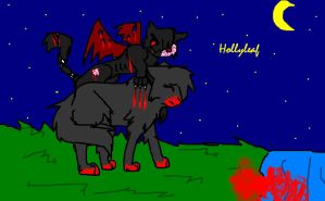 Hollyleaf OLD by Spottedfire1212