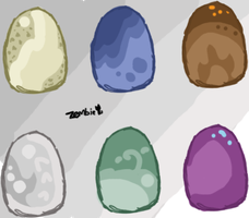 Gryphon Eggs - Closed by KittehzAdopts