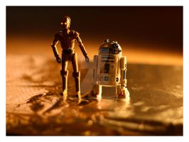 Star Wars Stills R2D2 C3P0 2 by PeppermintPuff