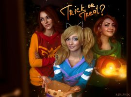 DotA 2 - Halloween - Trick or Treat?! by MilliganVick