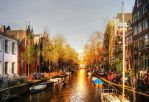 Golden Canals by aninyosaloh