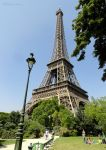 Eiffel Tower above the Champ de Mars by EUtouring