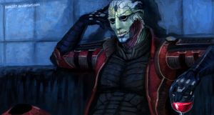 Mass Effect - Thane by betti357