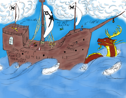 Sailin' The Seven Seas by DeeryDeerth
