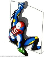 Metroid Fusion- Power Grip by TheXHunter08