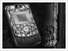 Cell Phone Engraving by aludden10