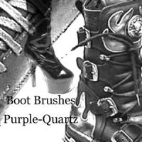 Boot Brushes by Purple-Quartz-Brush