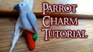 Realistic-Looking Parrot Pin (Video Tutorial) by NerdEcrafter