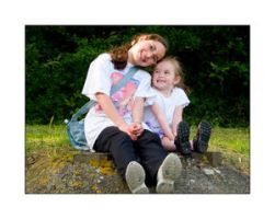 Happiness is a sisters love by BFG