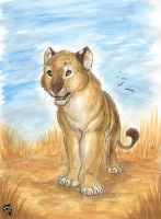 African Lioness by DolphyDolphiana