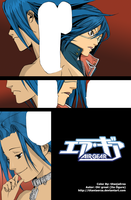 Lind and Akito Air Gear by titaniaerza