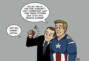 Phil Coulson, Agent Fanboy by LamechO
