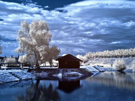 Infrared Pond by ilimel
