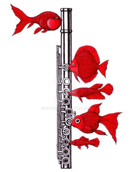 Fish And Flute by Vitogoni
