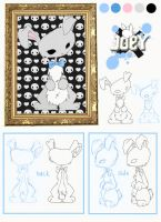 Character Design - Joey II by Mad3m0is3ll3-K3y