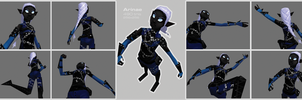 Arinae Low Poly by lemdrop