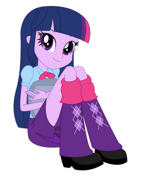 Vector - EqG Twilight Sitting by SketchMCreations