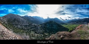 Landscapes of Crete V by calimer00