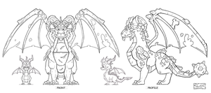 TLoS DragonGuardian Terrdor Elevations by That-Spyro-Guy