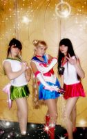 sailor moon team by usagi999