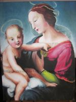 Final Plate: Madonna and Child by DreamFarfalla