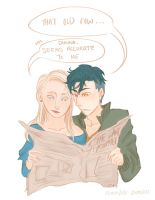 [HP] Teddy and Victoire by november-branches
